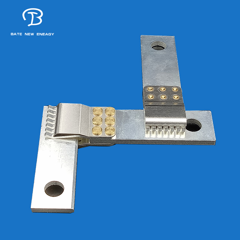 High-voltage connector square terminal